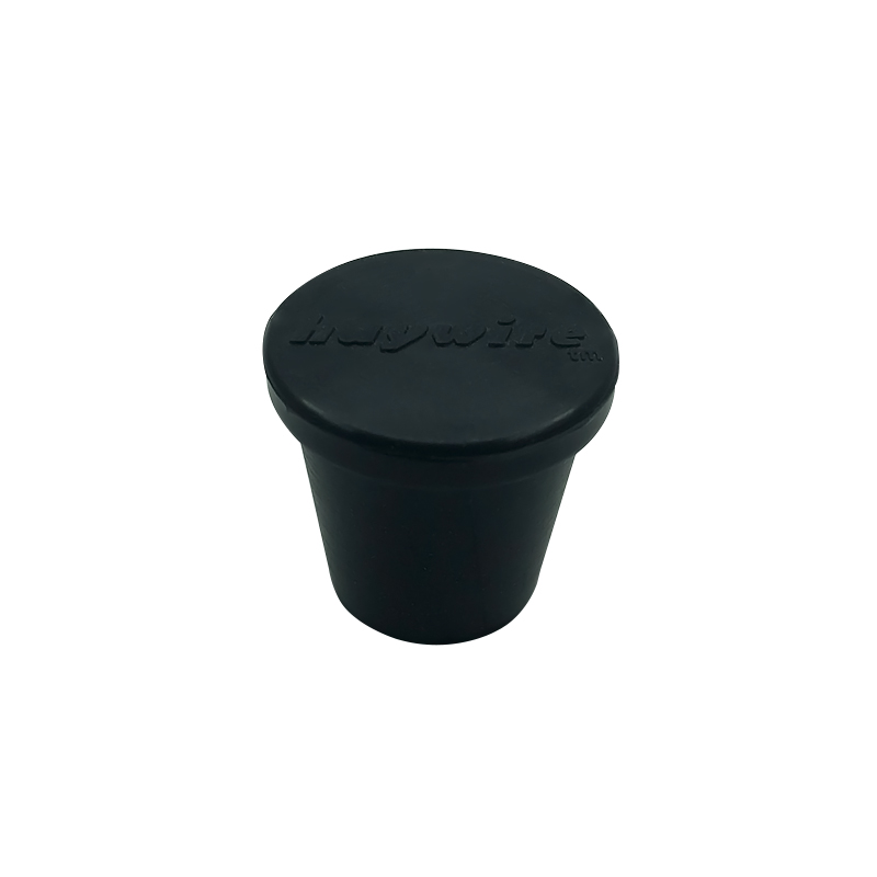 Rubber mounting feet with nail rubber legs