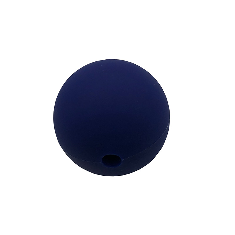 hollow blue silicone ball