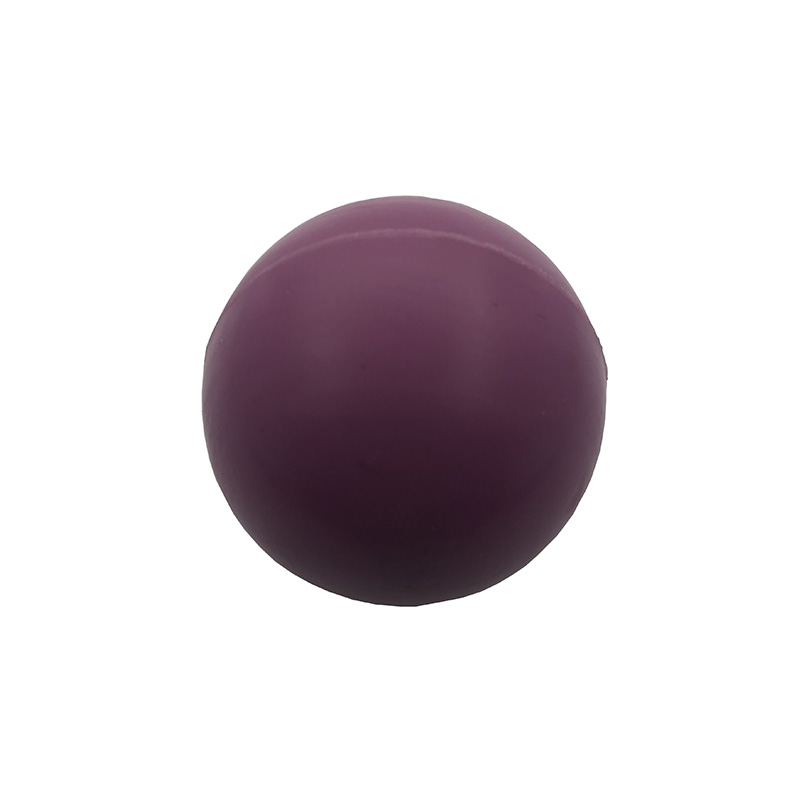 63mm silicone yoga massage ball