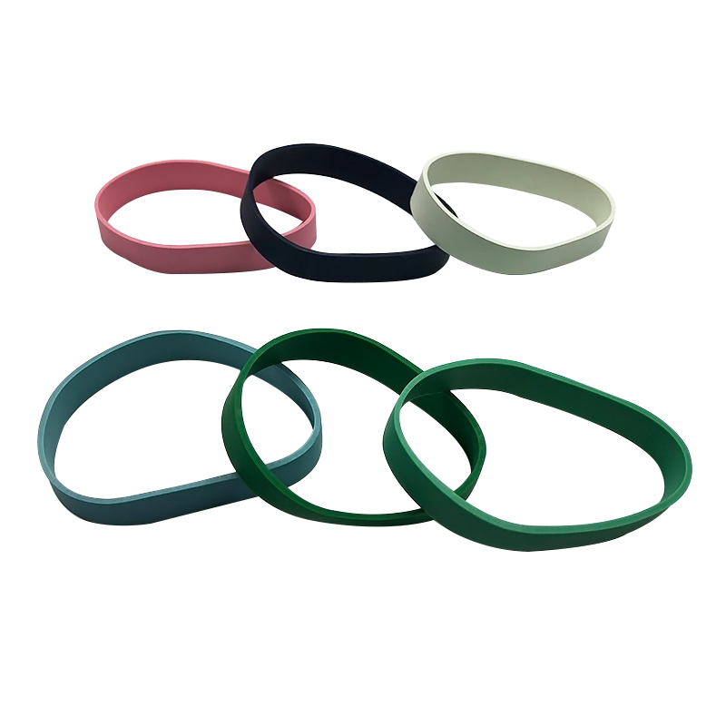 natural rubber printing design rubber bands bracelets for kid and adult